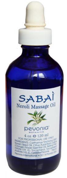 Sabai Neroli Massage Oil